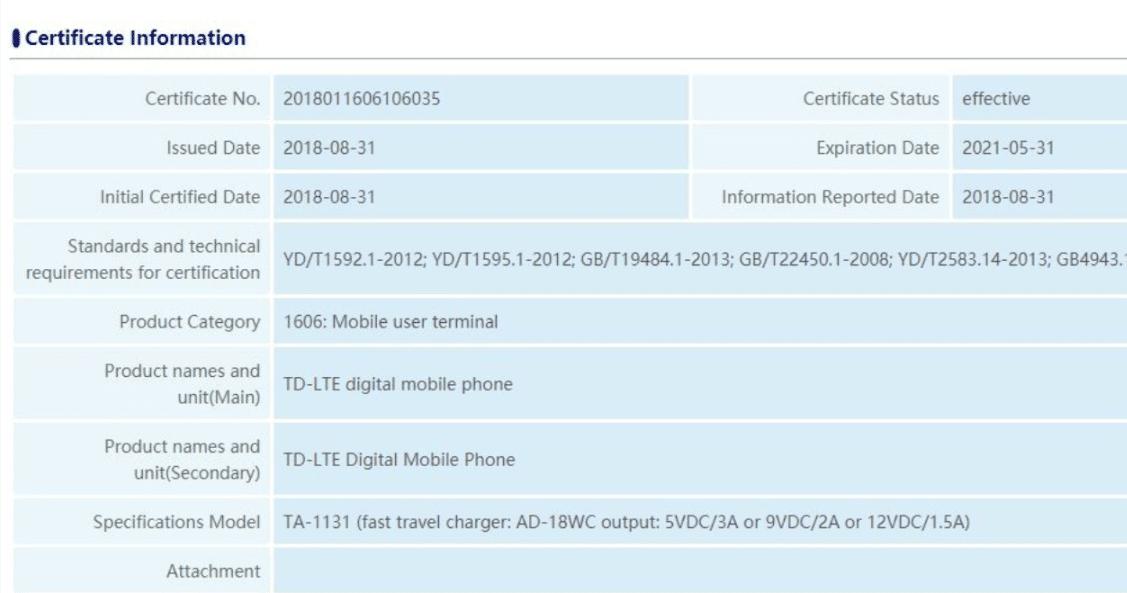 Nokia 9 Zertifizierung