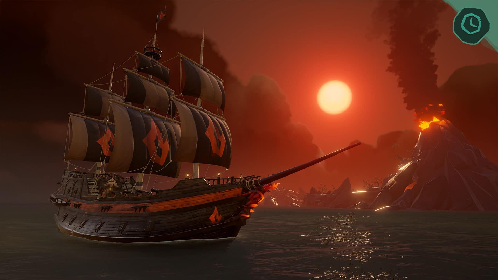 Xbox One Sea Of Thieves Update Forsaken Shores Jetzt
