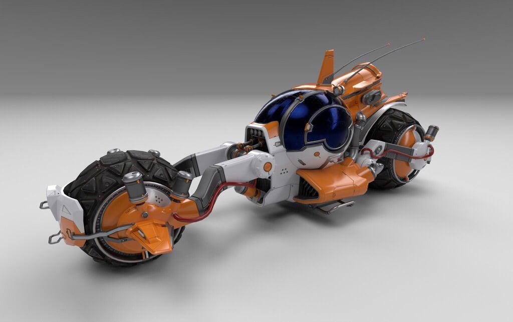 In No Man's Sky wurde nun das erste neue Fahrzeug seit dem Pathfinder-Update hinzugefügt: Pilgrim, ein leistungsstarkes, futuristisches Motorrad.