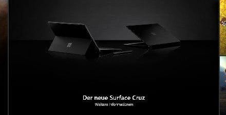 Surface Cruz Surface Pro 6