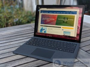 Surface Laptop 2 Test