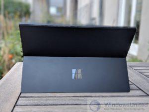 Surface Pro 6 kratzfest schwarz empfindlich