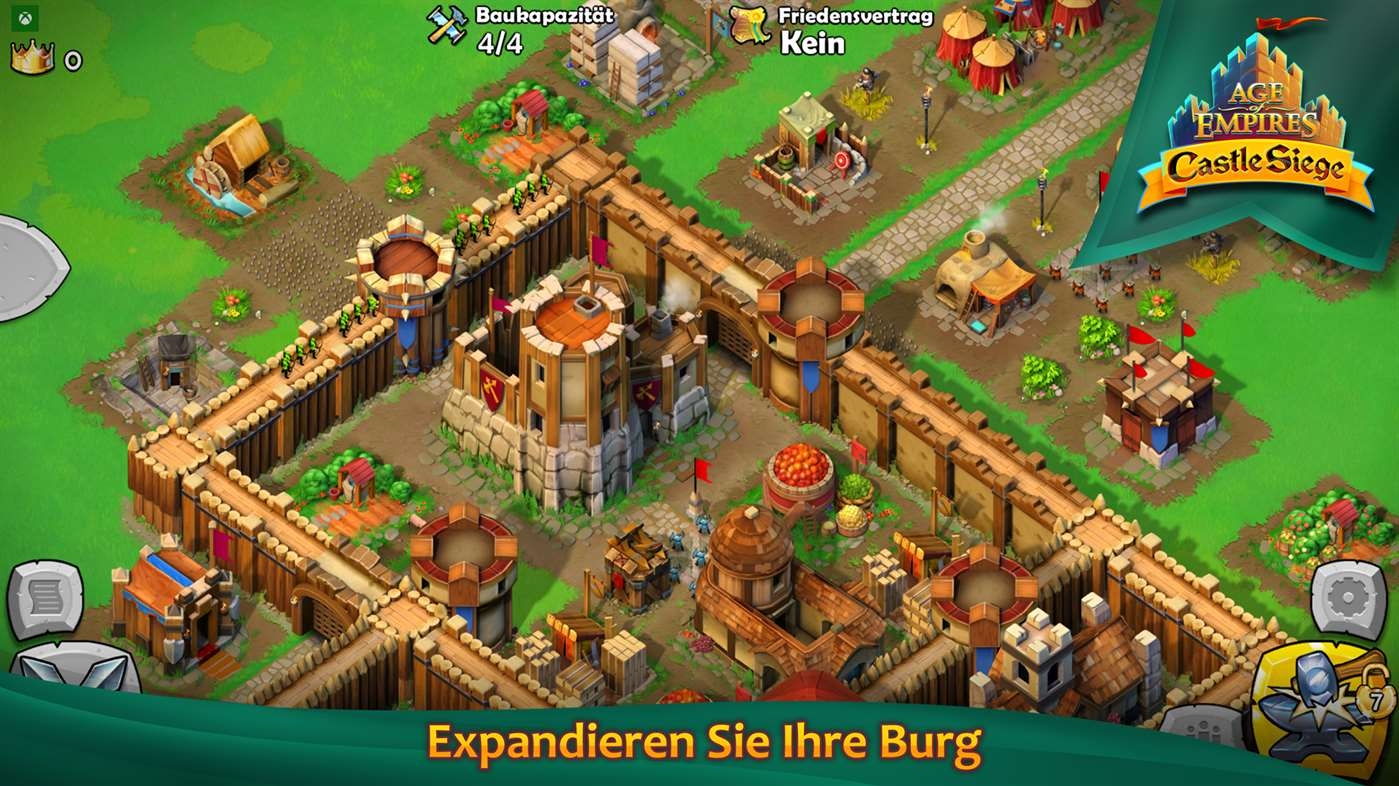 Microsoft, Age of Empires: Castle Siege, Gaming