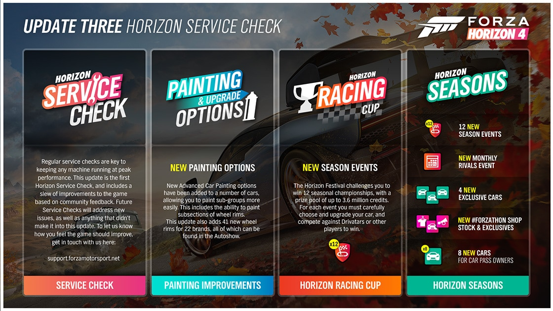 Forza Horizon 4, Series 3, Xbox One, Gaming