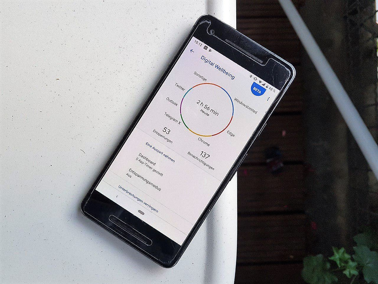 Digital Wellbeing Nokia Android 9 Pie