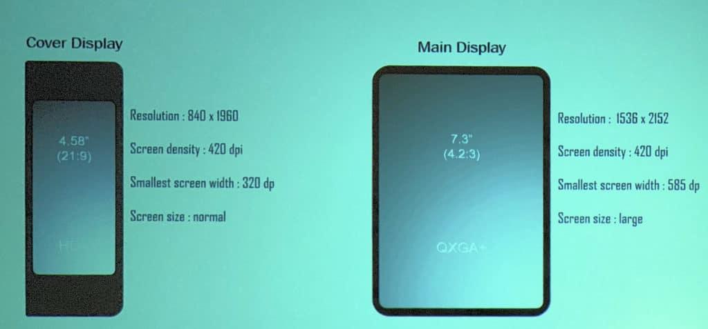 Samsung infinity flex faltbares smartphone