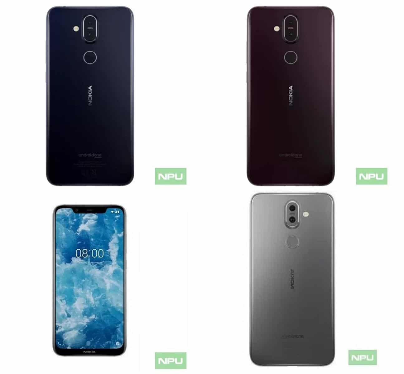 Nokia 8.1 Video leak