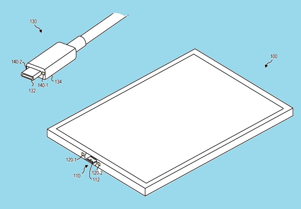Surface Pro 7 magnetischer USB C