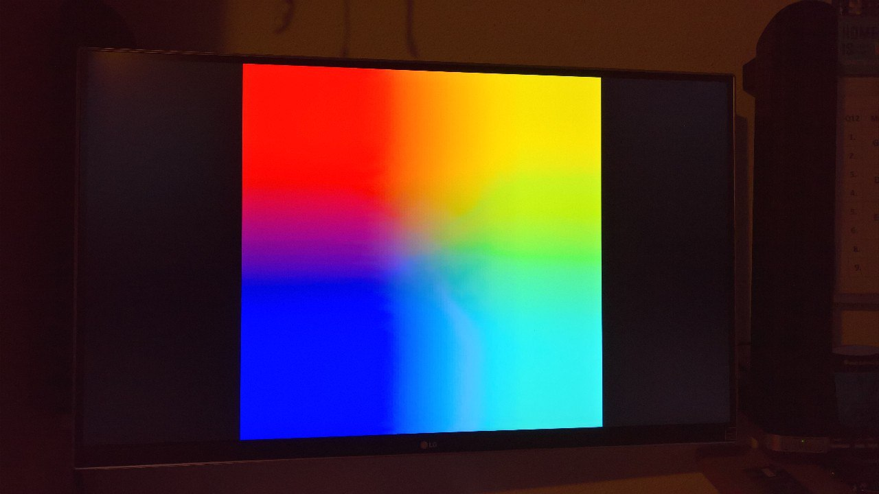 Rainbow Screen Raspberry Pi