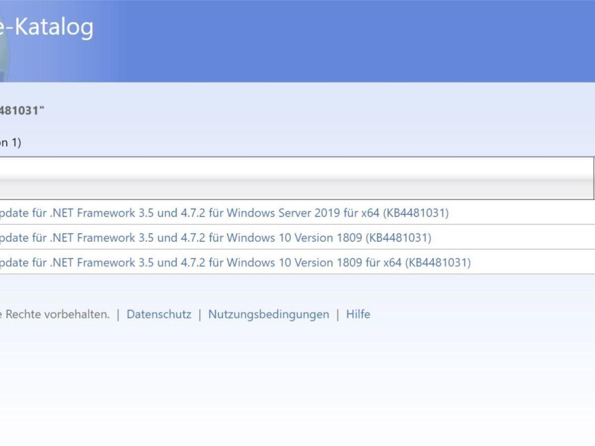 Fehlerbereinigt Windows 20 Version 20 .NET Framework 20.20 und ...