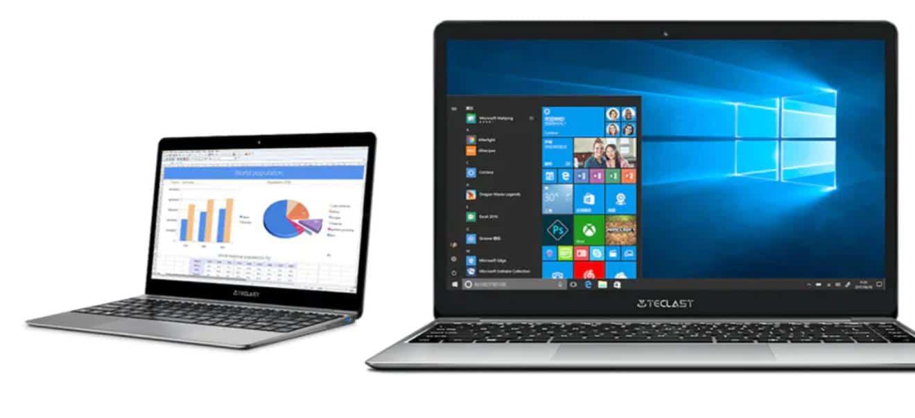teclast f7 pro windows 10 laptop mit metallgeh use f r. Black Bedroom Furniture Sets. Home Design Ideas