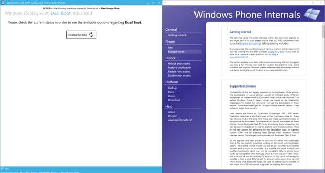 Windows 10 ARM auf Lumia Installieren