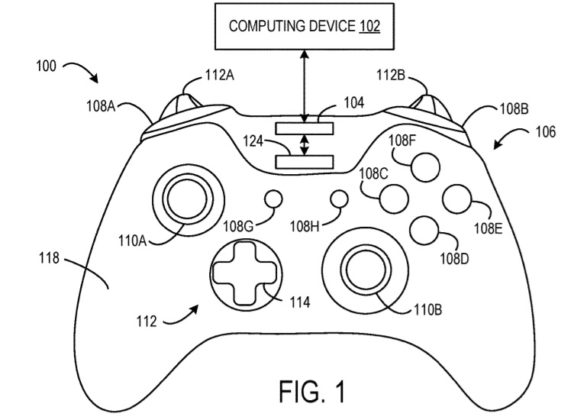Gaming, Xbox One, Controller, Patent