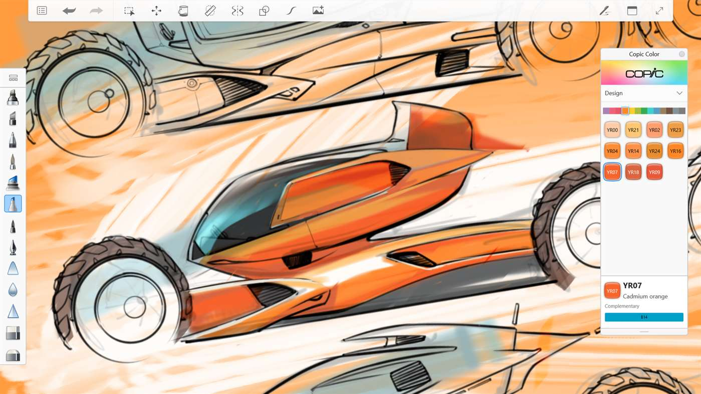 Zeichen apps für Surface