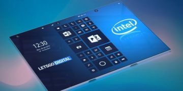 Intel faltbares Smartphone