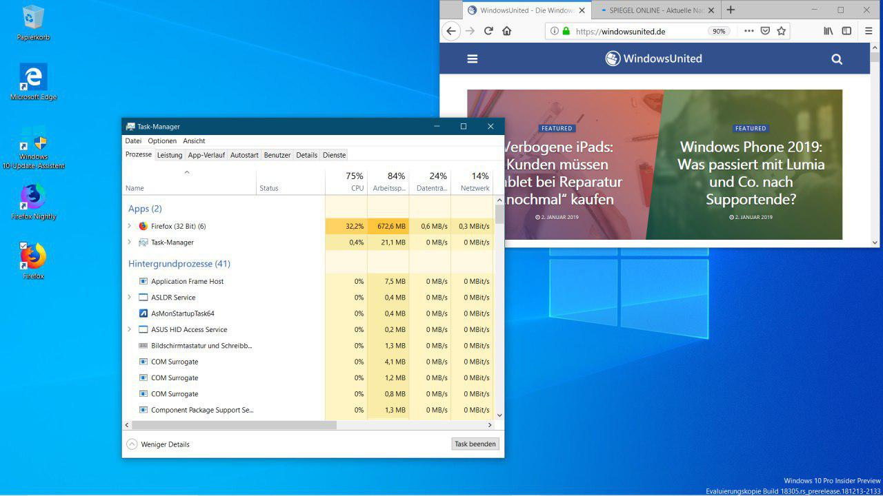 Firefox ARM 64 Windows 10 ARM