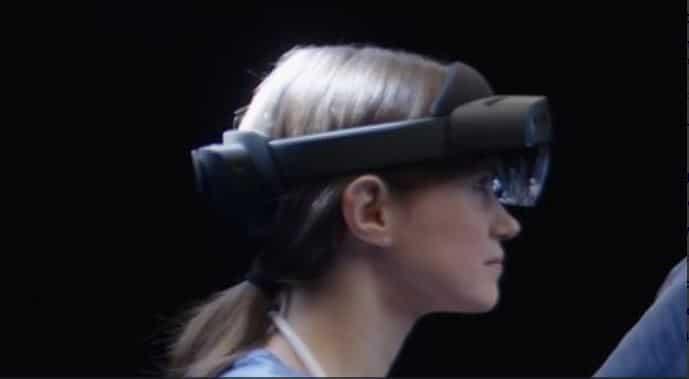 Microsoft HoloLens 2 Sichtfeld