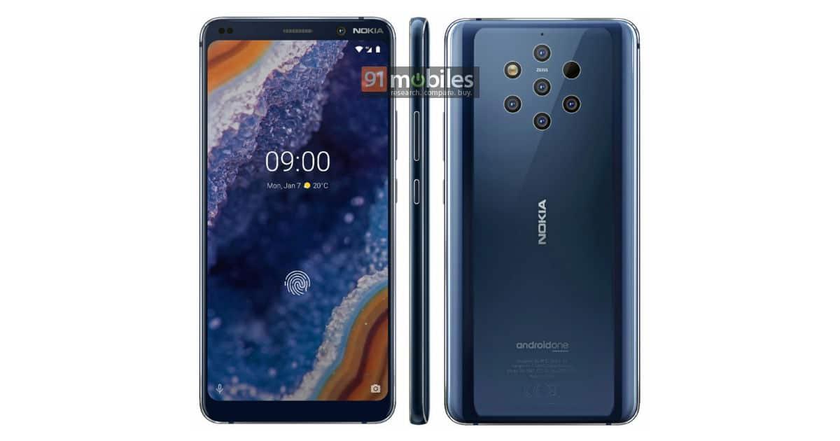 Nokia 9 Pureview Rückseite