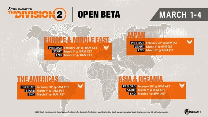 Ubisoft, The Division 2, Gaming, Xbox, Open Beta