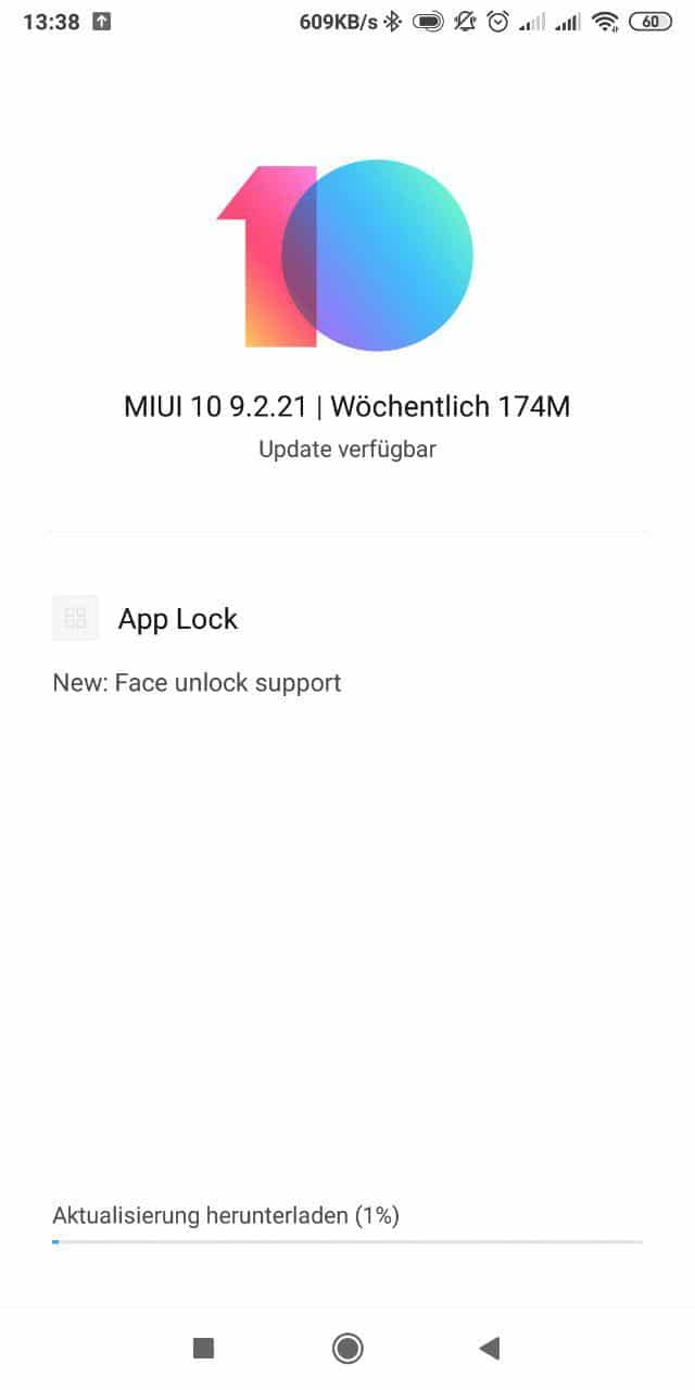 Xiaomi Redmi Note 5 Face Unlock