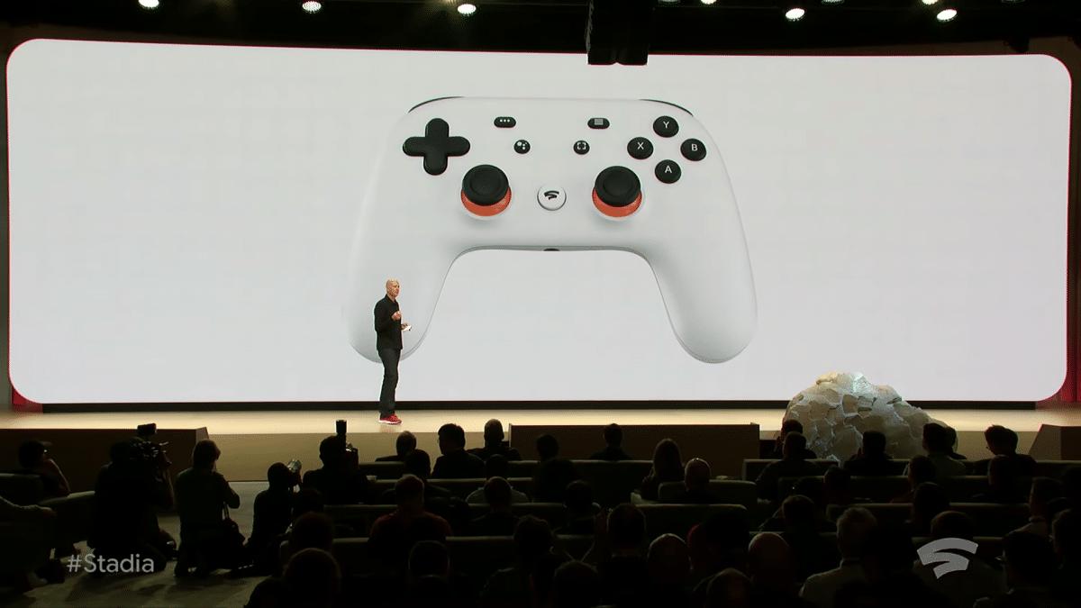 Google, Stadia, Gaming, Streaming, Controller