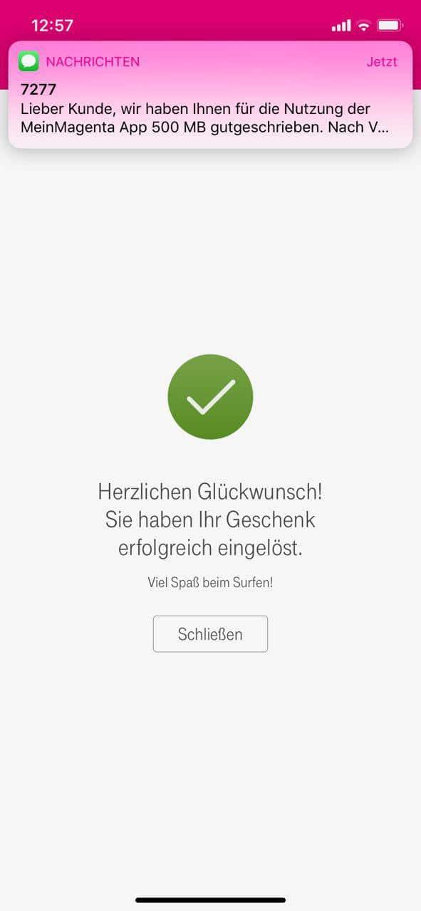 Telekom Verschenkt 500 Mb Datenvolumen An Vertragskunden Windowsunited