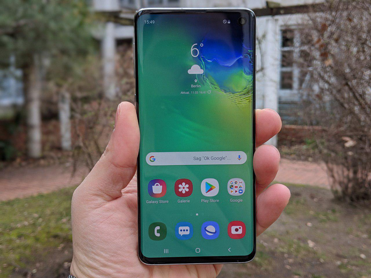 Samsung Galaxy S10 Test