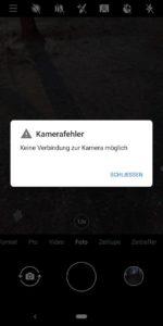 Nokia 9 PureView Test Kamera Fehler