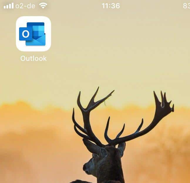 Outlook Symbol iOS
