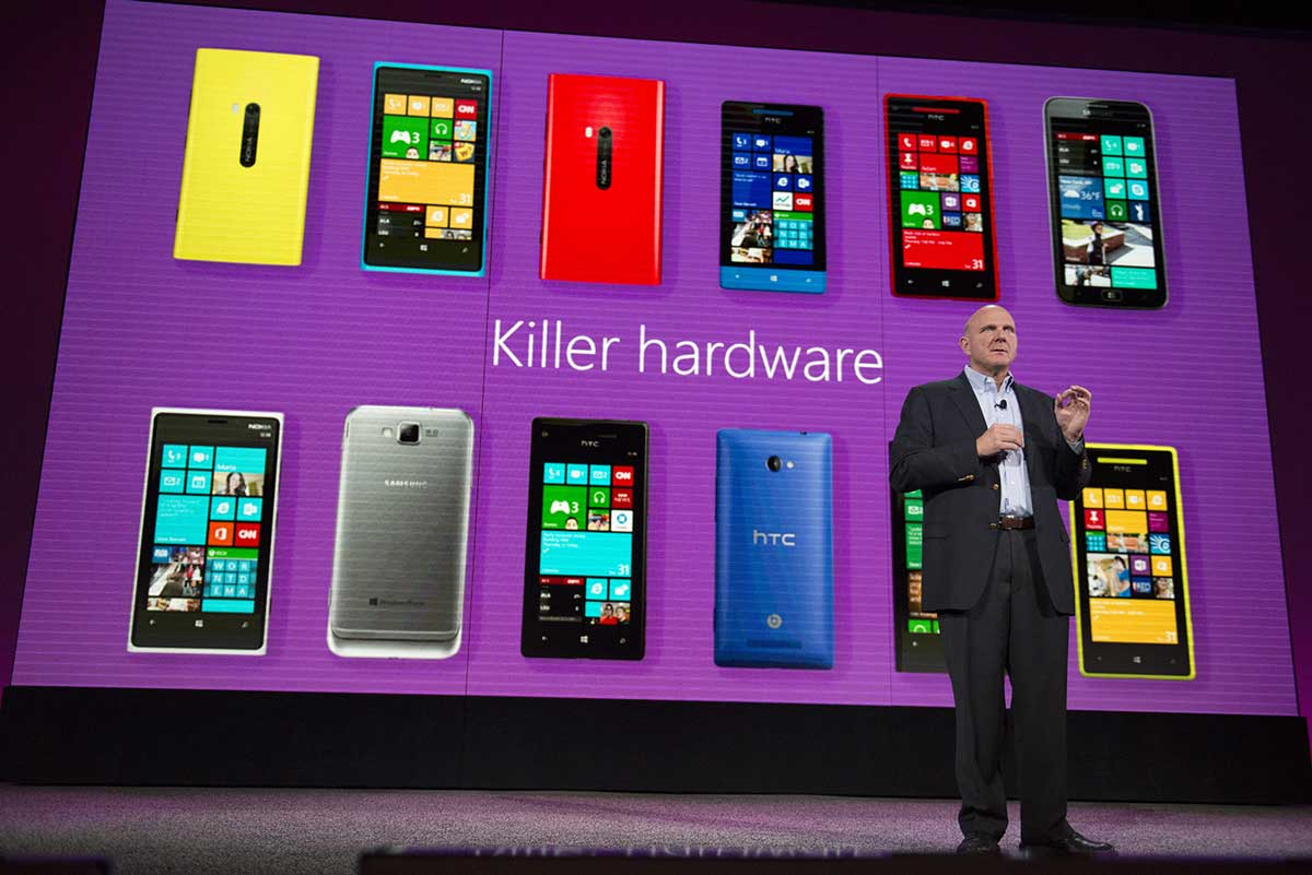 Ballmer Windows Phone Killer Hardware