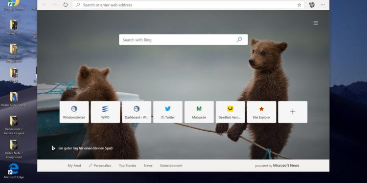 Microsoft Edge (Chromium): Hinweis deutet auf zeitnahen