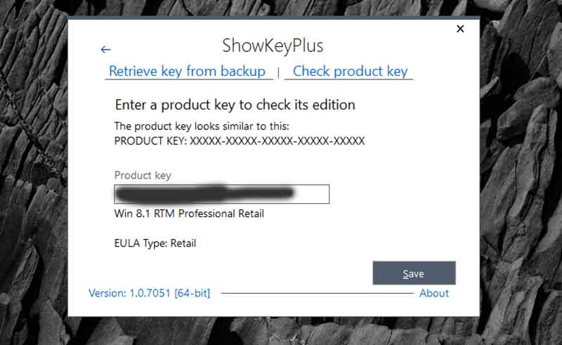 Windows-10 Pro Lizenz ShowKey Plus