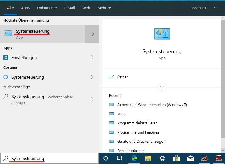 Windows 10 Backup erstellen Anleitung