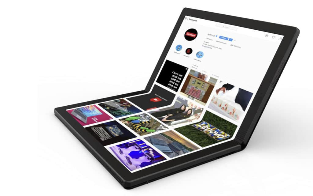 Lenovo foldable thinkpad X1