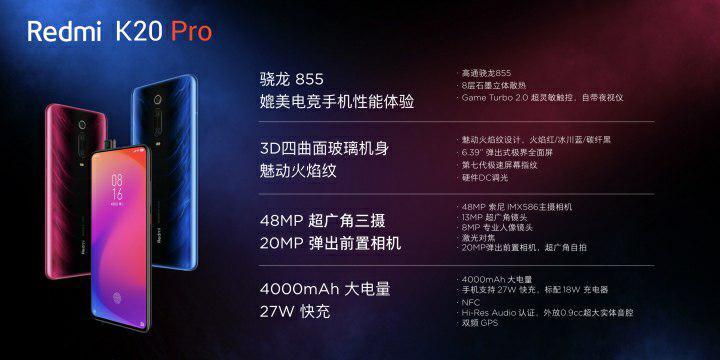 Redmi K20 Pro, Redmibook 14, Redmi 7A Release, Daten, Preis