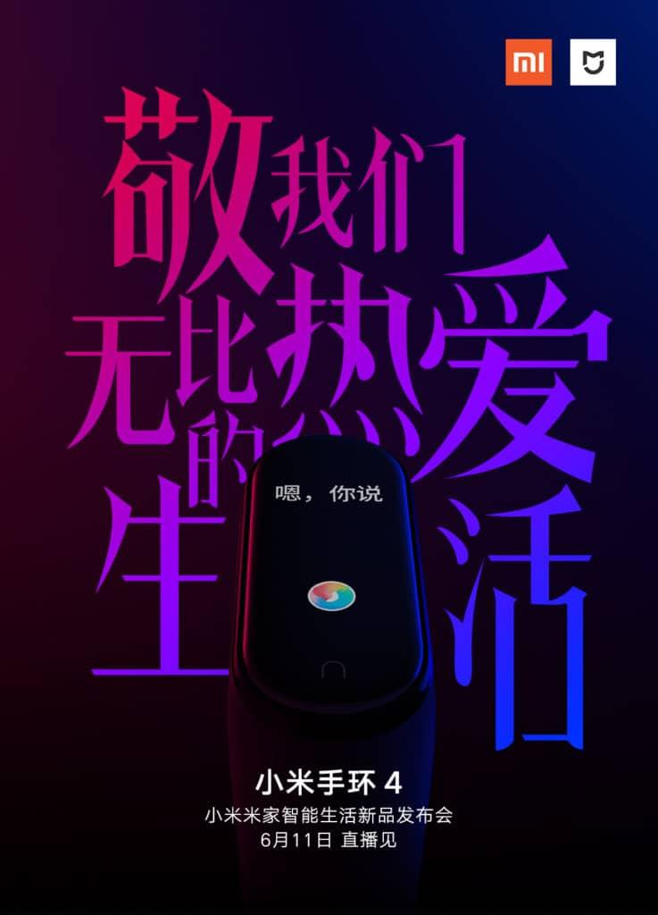 Xiaomi Mi Band 4 Release