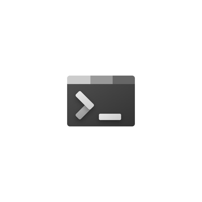 Windows Terminal neu