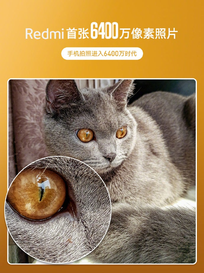 Redmi 64 Megapixel Kamera