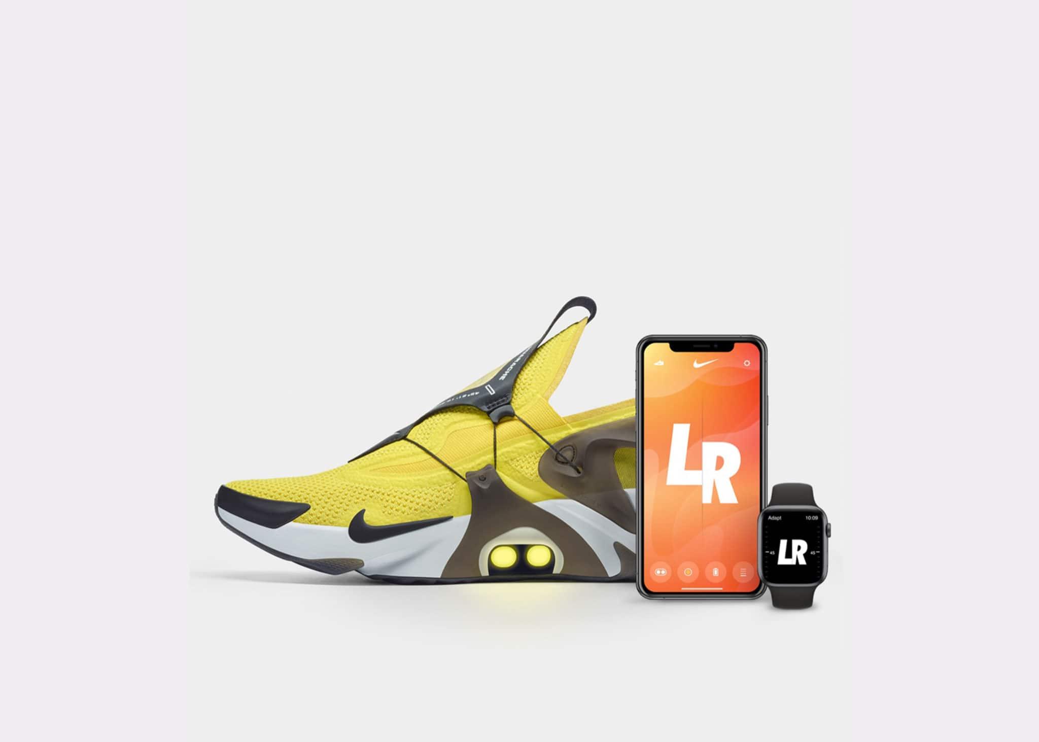 Selbstschnürende Schuhe Nike stellt Adapt Huarache Sneaker