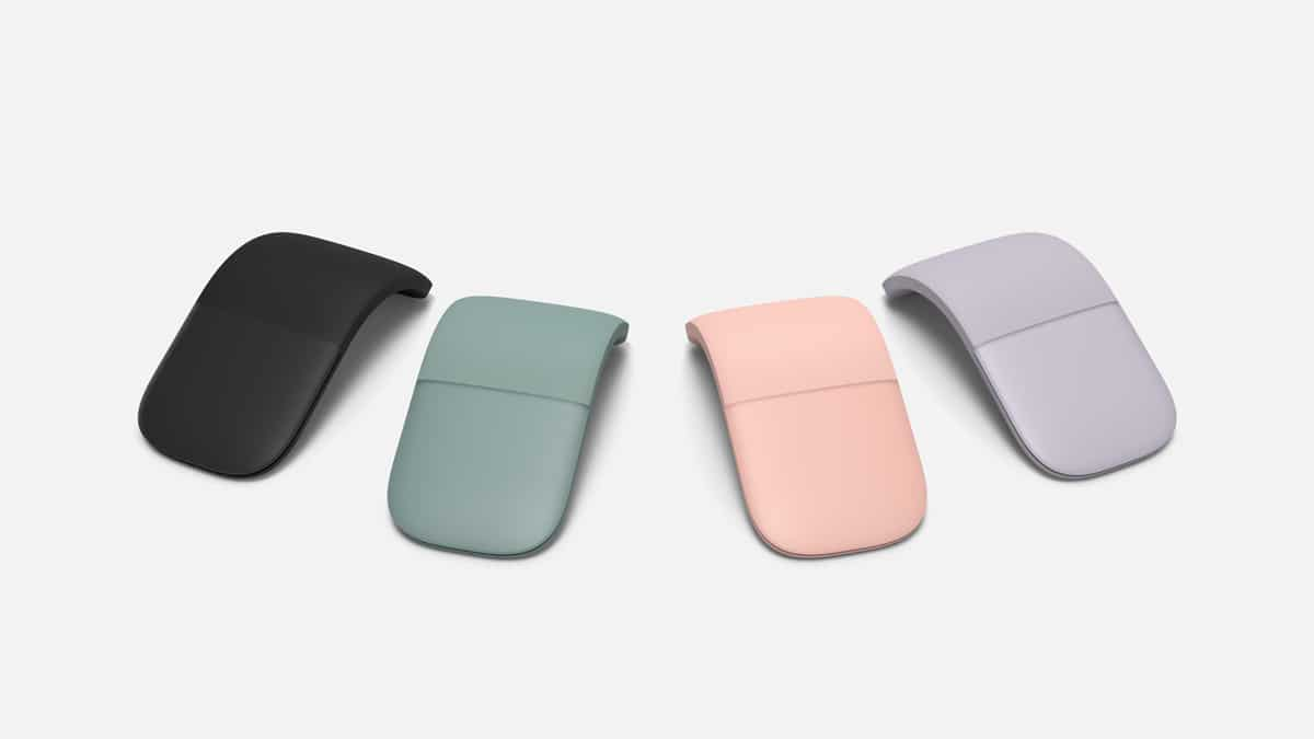 Microsoft Arc Mouse Farben