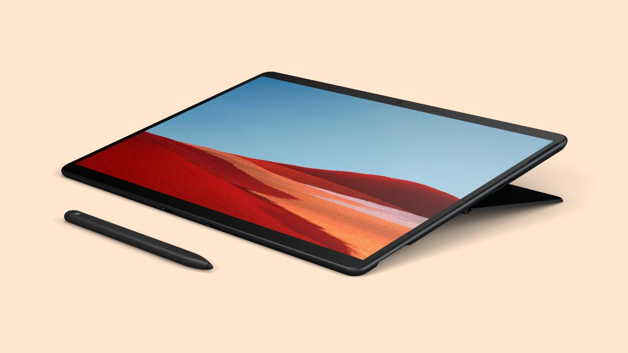 Surface Pro X mit Windows on ARM
