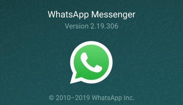 Dunkles Whatsapp