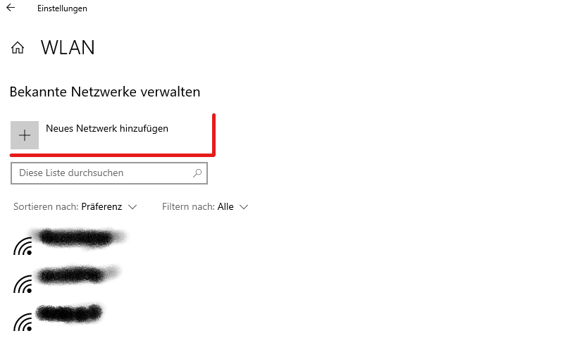 [Anleitung] WLAN-Profile in Windows 10 einrichten bevor man im Netzwerk ist