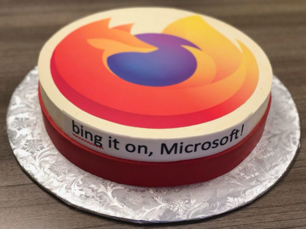 Mozilla gratuliert Microsoft zum Edge-Launch