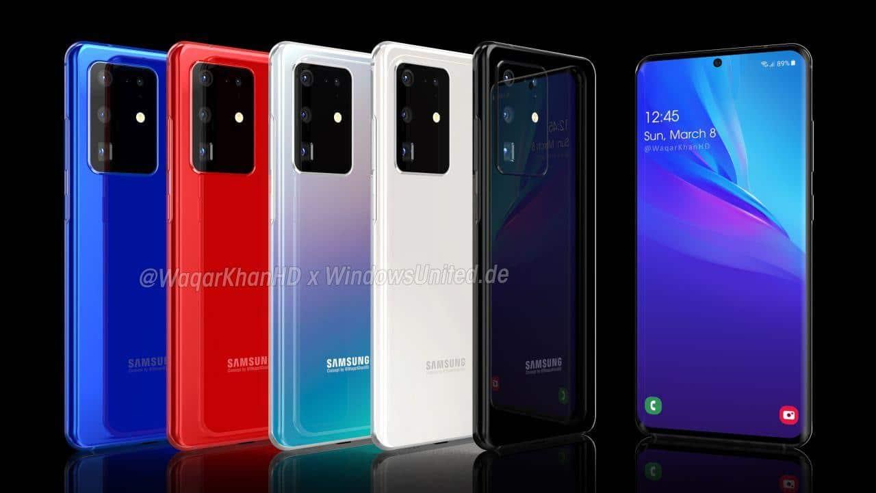 Samsung Galaxy S20 Ultra Farben