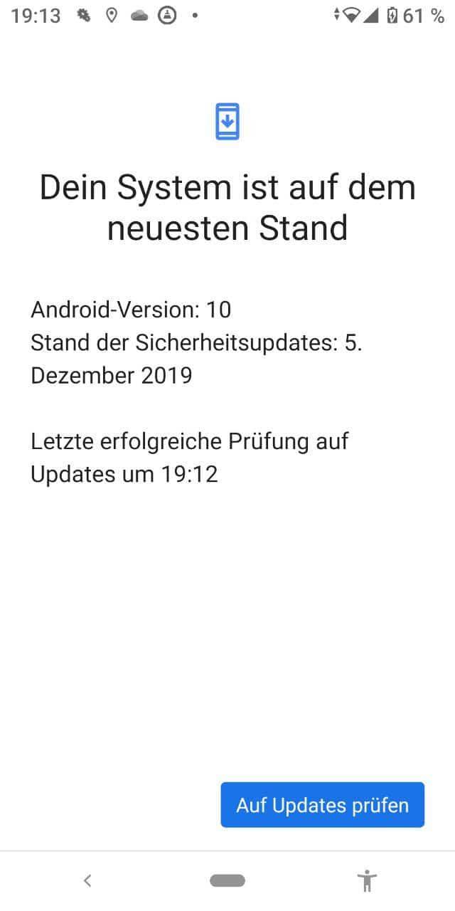 Xiaomi Mi A2 Android 10 Update