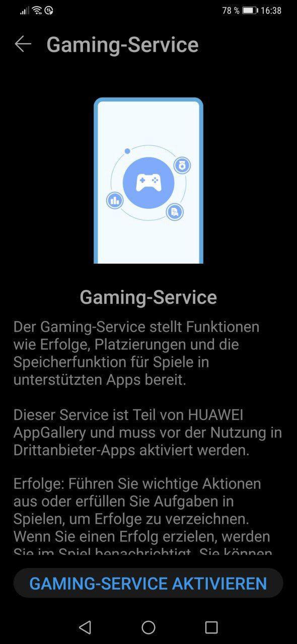 Huawei Game Service