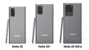 Samsung Galaxy Note 20, 20+, 20 Ultra