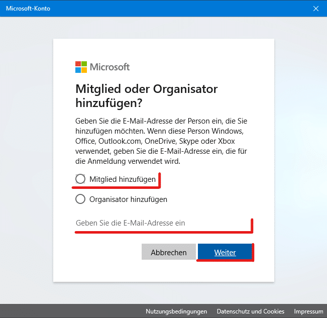 Windows 10 Kinderkonto anlegen Anleitung