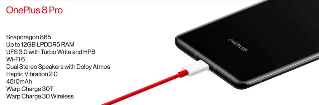 OnePlus 8Pro Specs